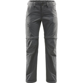 Haglöfs Lite Pantaloni Zip-Off Donna, magnetite